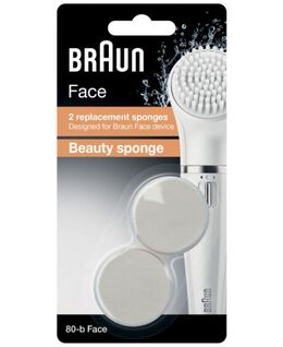 Face Brush Beauty Sponge Replacement Head 2 Pack